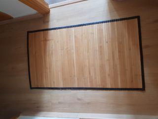 alfombra bambu