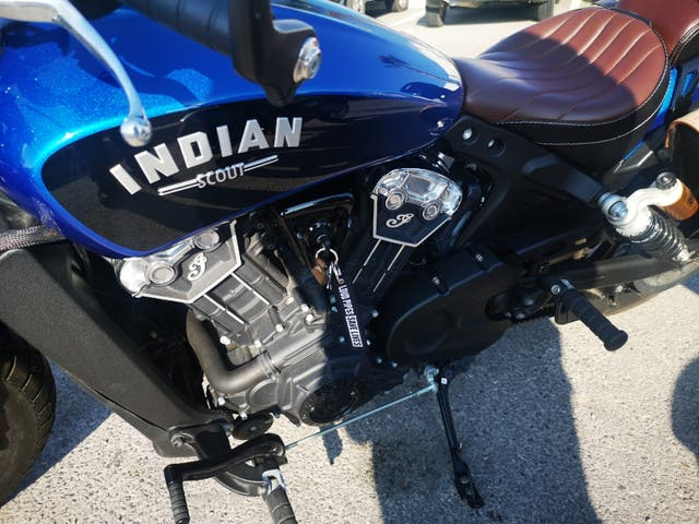 Moto Indian scout bobber icon 2019 A2