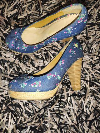 Zapatos tacón de Mustang