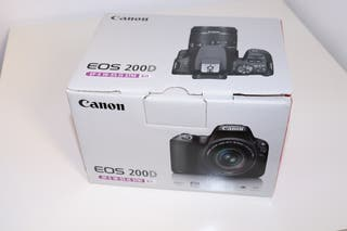 Canon EOS 200D EF-S 18-55 IS STM (NUEVO)