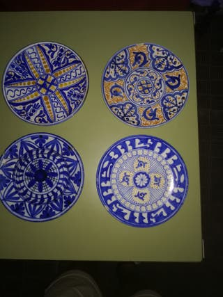 4 platos para decorar