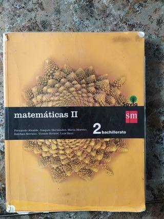 Libro de Matemáticas de 2 bach