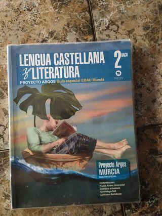 Libro de lengua castellana y literatura de 2 bach