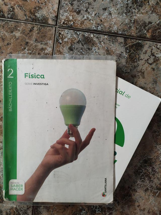 Libros de Física de 2 bach
