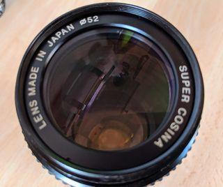 Objetivo Nikon Cosina 80-200mm. Ideal Sony o Fuji!