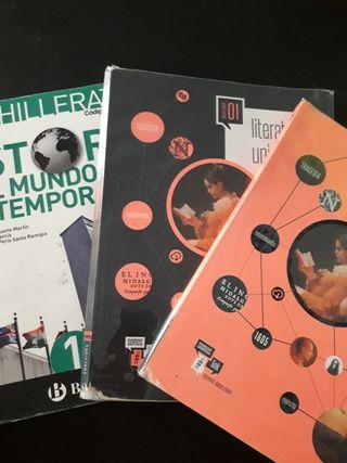 libros Bachillerato humanidades