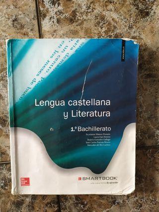 Libro de lengua castellana y literatura de 1 bach