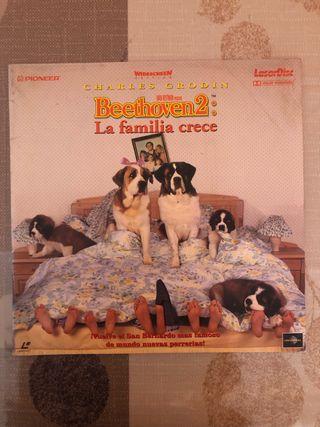 Laser Disc Beethoven 2: La familia crece