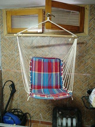 sillón colgante