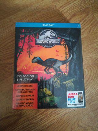 Jurassic Park + J. World Saga Completa (5 pelis)