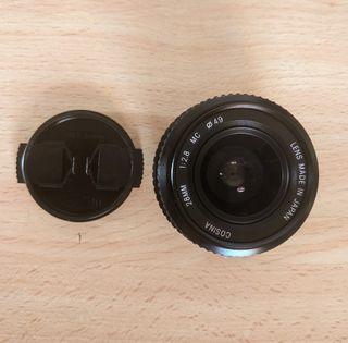 Objetivo Nikon Cosina 28mm f/2.8 . Para Sony Fuji