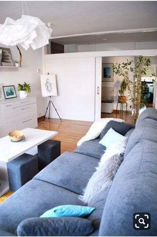 Sofa 3 metros con asientos deslizantes