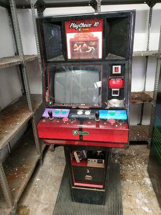 máquina recreativa playchoice Nintendo