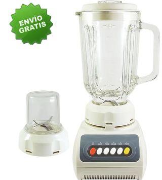 Batidora de vaso con molinillo