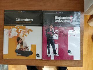 Libros Euskera eta Literatura 1° de bachillerato