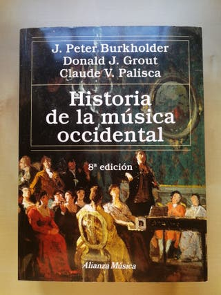 Libro Historia de la Música occidental