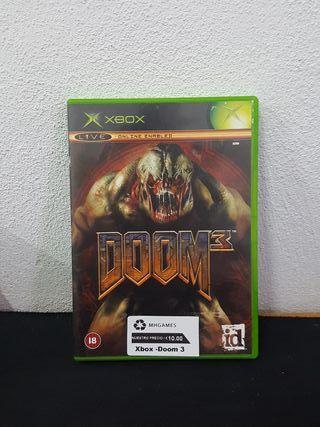 Juego Doom 3 Xbox