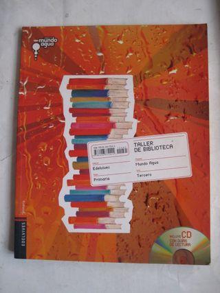 libro Edelvives Primaria Taller de biblioteca Agua