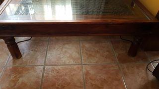 Mesa de centro de diseño alta calidad de madera ma