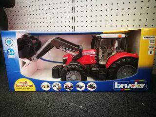Tractor Massey Ferguson 7600 con pala NUEVO