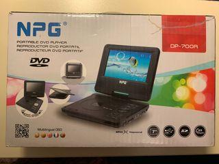Reproductor DVD portátil.
