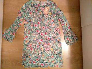 Vestido floral nuevo Dolores Promesas T 38