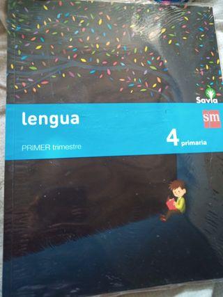libro de lengua 4° de primaria (primer trimestre)