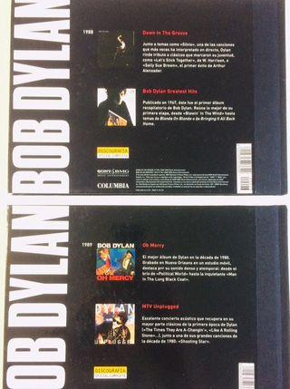 4 Discos cd oficiales de BOB DYLAN y 2 libros