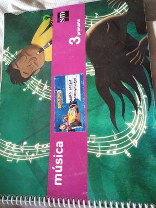 Libro de música 3° de primaria