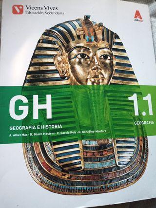 Libro de geografía 1° ESO