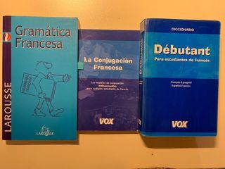 Pack para aprender francés.