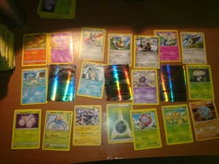 Cartas de Pokemon a elegir