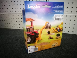 Excavadora trasera para tractor de juguete