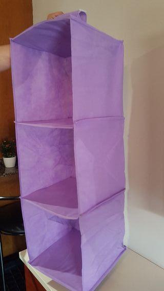 3 Muebles XL Tela colgar