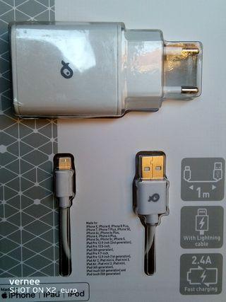 Cargador iPhone/iPad/iPod