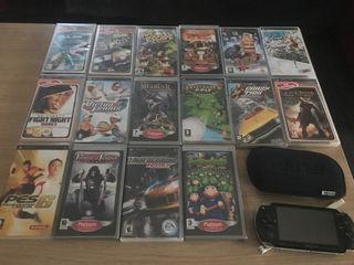 Psp con16 juegos coleccion