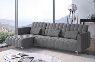 Sofa chaise longue convertible en cama reversible