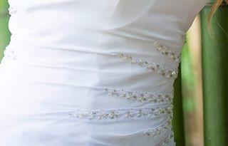 vestido de boda civil