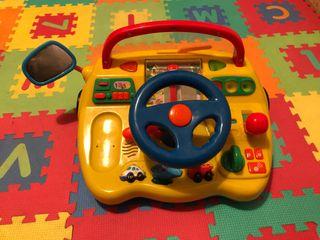 Ordenador simulador para conducir con sonidos