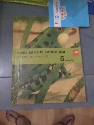 libro SM ciencias de la naturaleza 5