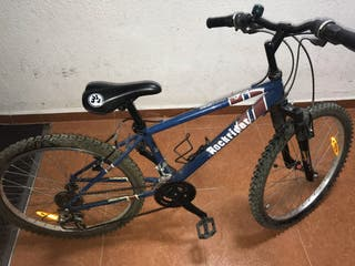 Bicicleta de montaña para niños azul