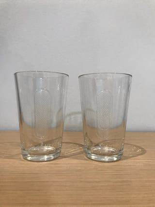 Set 2 vasos 350ml NESPRESSO (sin estrenar)