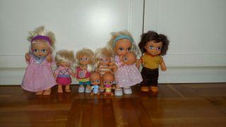 Familia muñecas Barriguitas