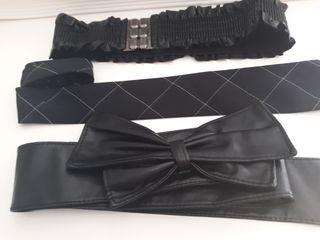cinturones de vestir de mujer y corbata