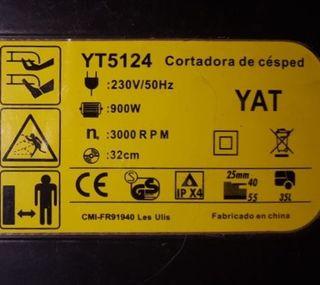 Cortacésped eléctrico / tallagespa elèctric
