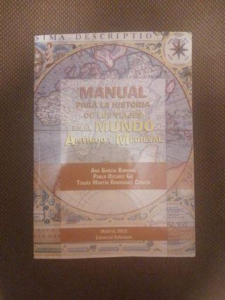 Manual para la historia de los viajes en el mundo
