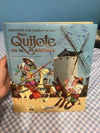Libro ilustrado Don Quijote