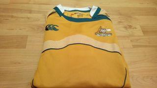 Camiseta Rugby Australia (nueva con etiquetas)