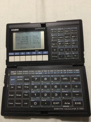 Calculadora CASIO ex-7500G