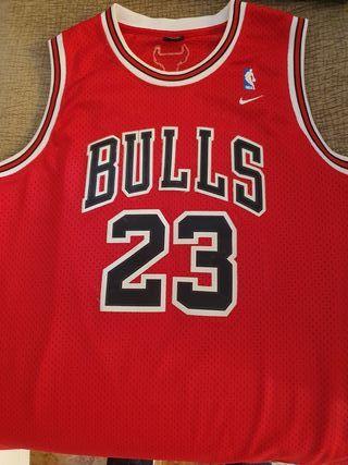 "Camiseta Chicago Bulls de Michael ""Air"" Jordan"